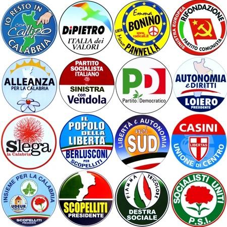 Verso la campagna elettorale tra partiti maggiori liste for Politici di destra nomi